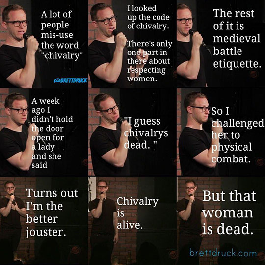 funny-stand-up-chivalry-woman