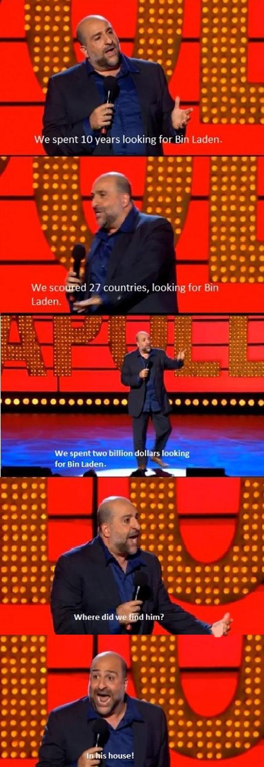 We Spent Ten Years Looking For Bin Laden