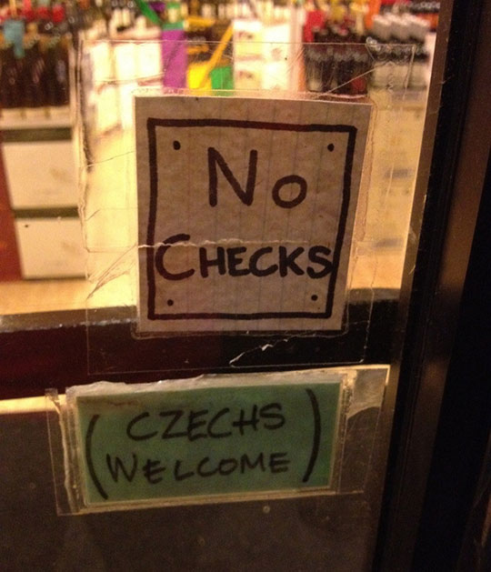 funny-store-sign-checks-Czechs