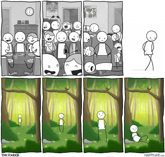 Loners Unite, Alone!