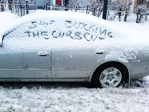 car-notes-snow-writing