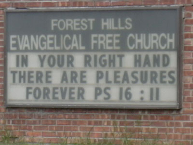 Hilariously Inappropriate Church Signs 21 Pics