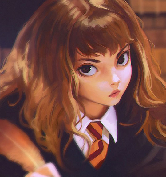 cool-Hermione-art-painting