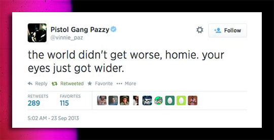 Some Twitter Wisdom