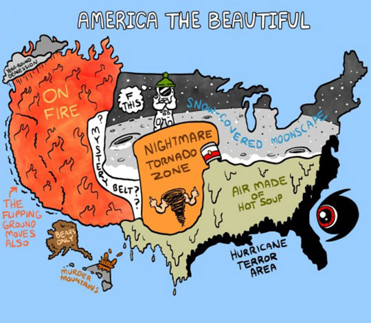 America's Beautiful Weather Zones