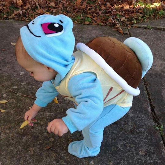 Squirtle Used Sweetness Attack
