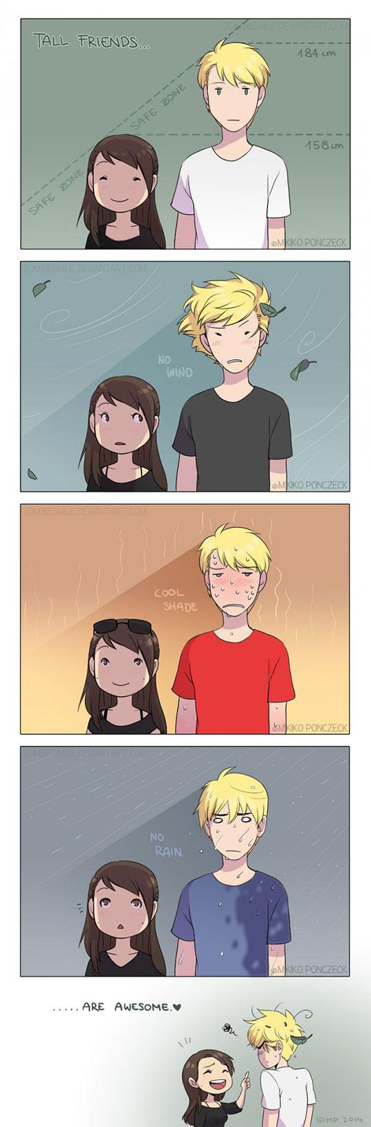 cute-webcomic-tall-friend-girl