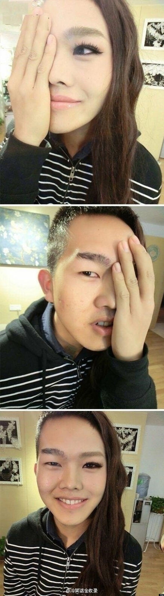 funny-Asian-boy-transform-woman-makeup