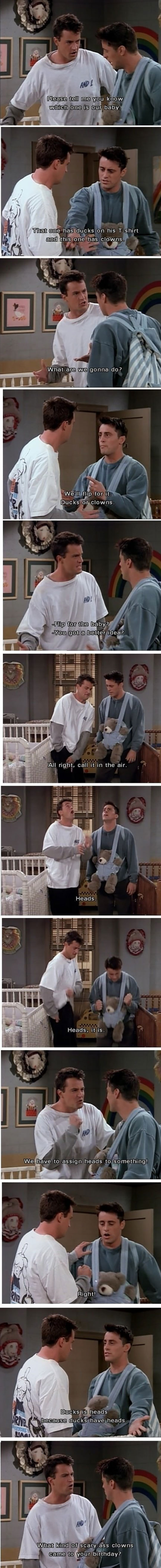 Friends Has Some Greatness Moments