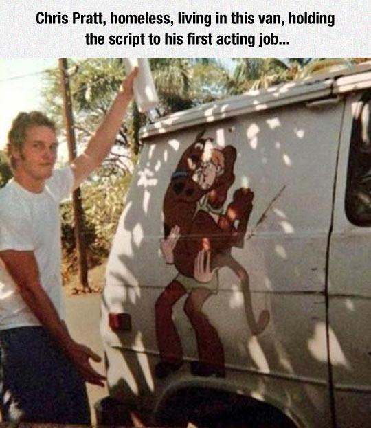Chris Pratt Started From The Bottom