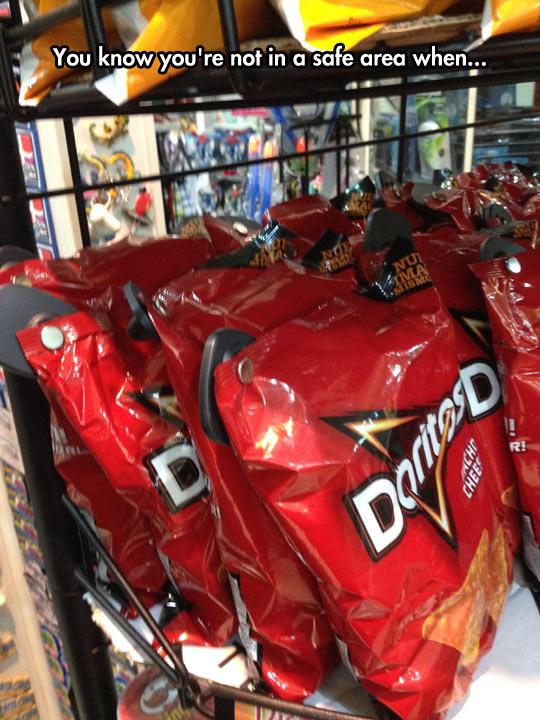 Keeping The Doritos Safe