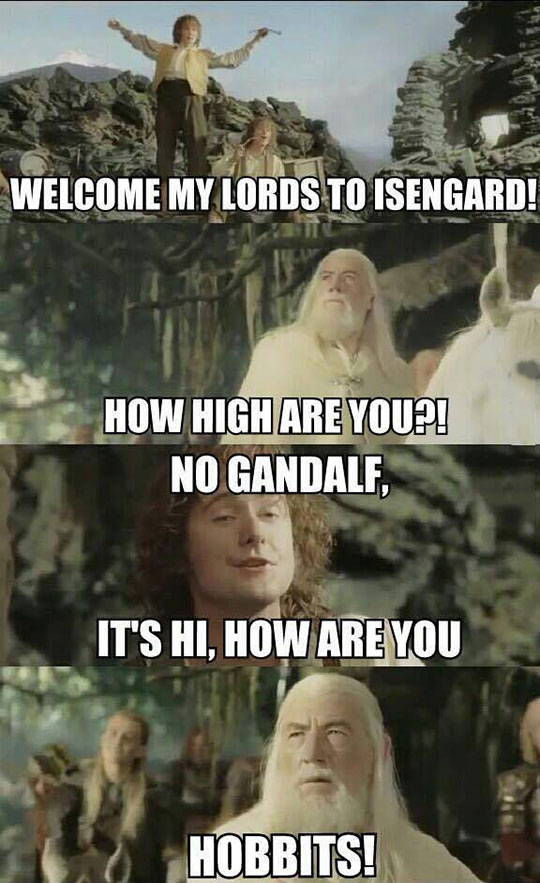 Gandalf Is Tired Of Your Crap