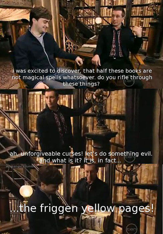The Hogwarts Library Is A Lie