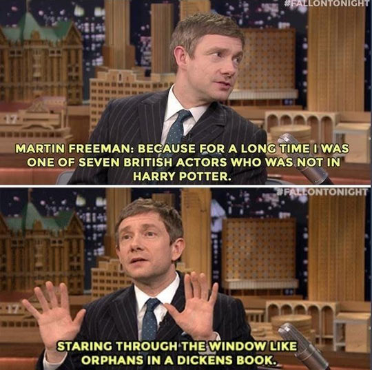 Martin Freeman Had To Wait For His Moment