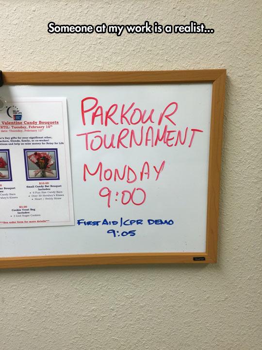Parkour Tournament