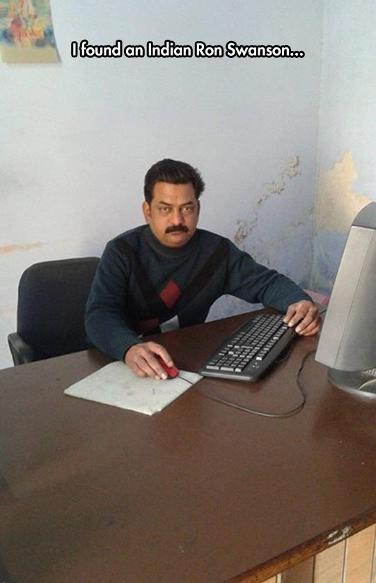 funny-Ron-Swanson-Indian-office