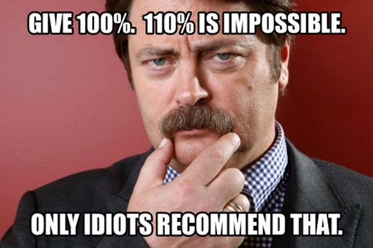 funny-Ron-Swanson-impossible-percentage