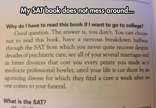 Why Do I Have To Read The Book?
