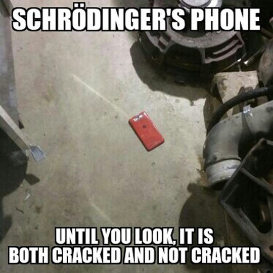 Nothing Scares Me More Than Schrödinger