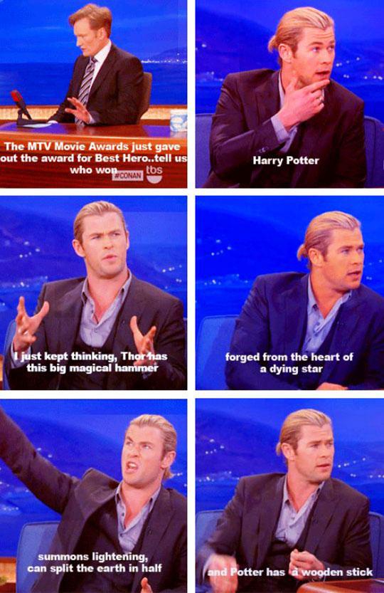 Thor Vs Harry Potter