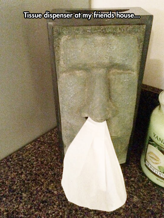 They Are Called Tiki Tissues