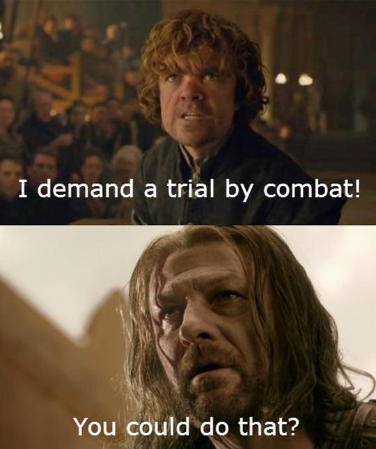Sorry Eddard, Nobody Told You?