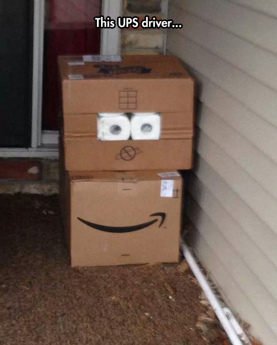 Your Packages Are Happy To See You