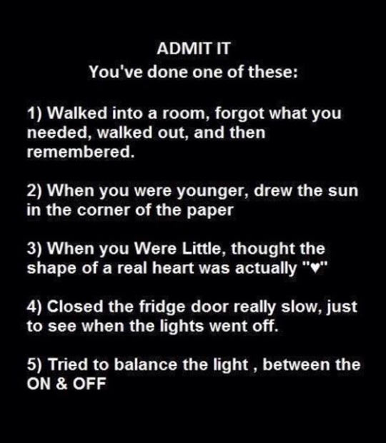I Want You To Admit It
