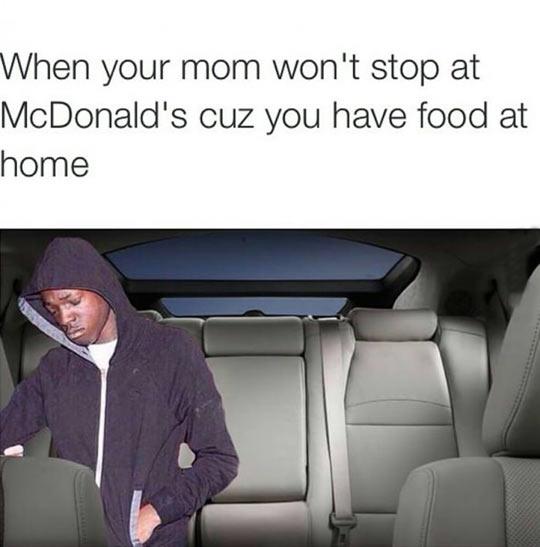 funny-car-mother-not-stop-McDonalds