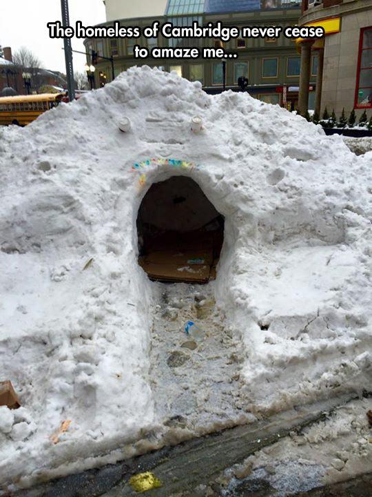 Cool Snow Cave