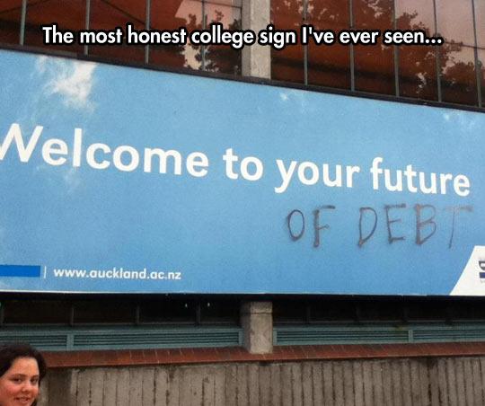 The Honest University