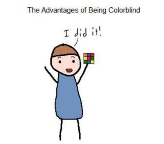 Being Colorblind Isn