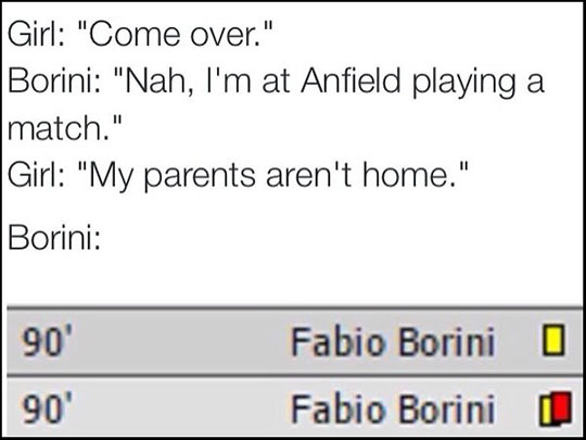 Hurry Up Borini