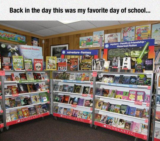 My Favorite Day Of School