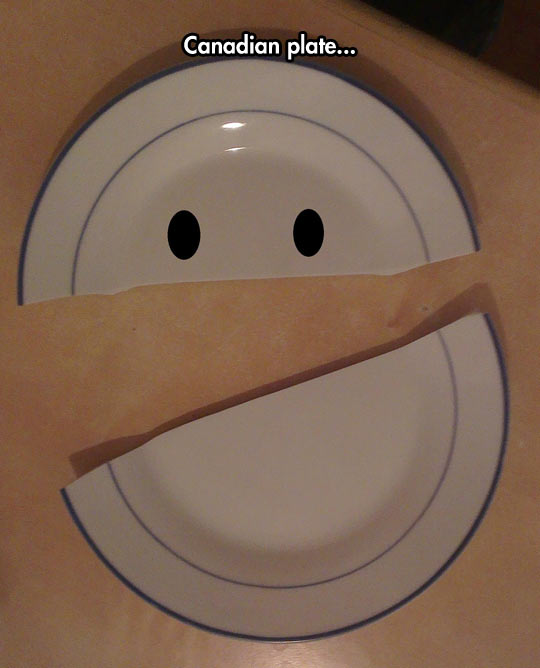 funny-dish-plate-Canadian-face-South-Park
