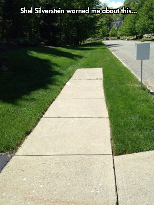 funny-end-road-grass-street
