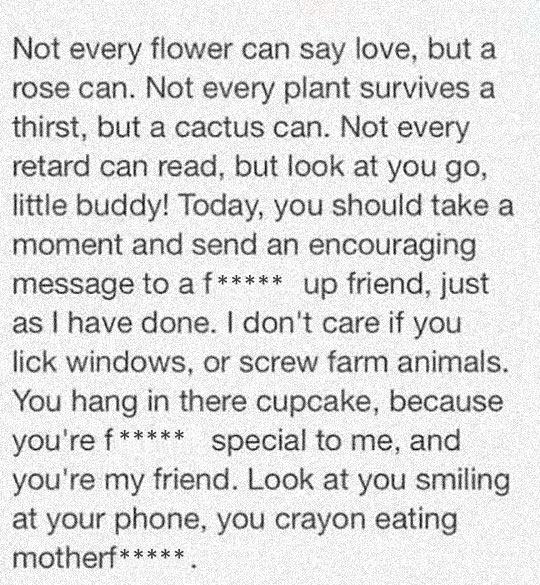 A Beautiful Poem To A Friend