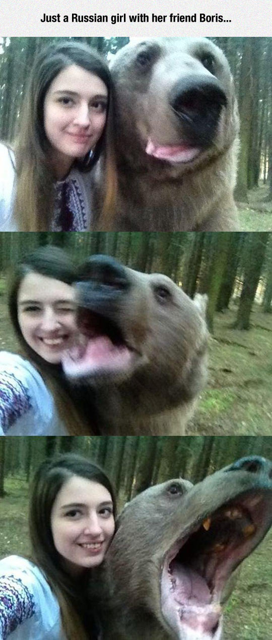 Selfie With Your Best Friend