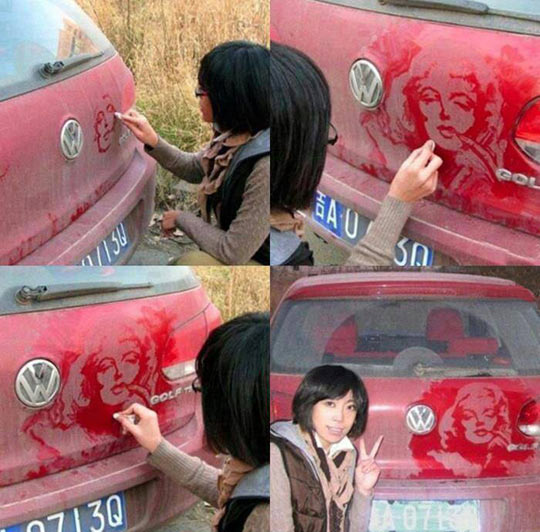 Dust Art At Its Best