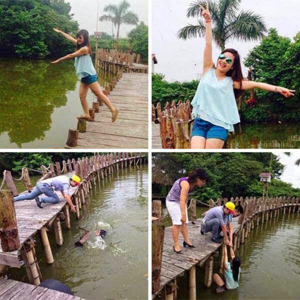 funny-girl-posing-bridge-falling-water-1