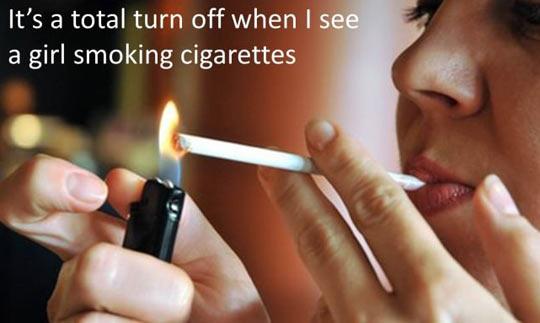 Girls Smoking
