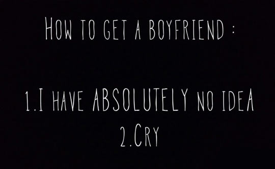 How To Get A Boyfriend In A Few Steps