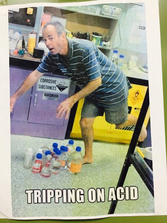 Chemistry Teacher Humor