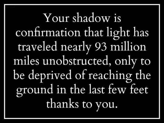 The Truth About Your Shadow