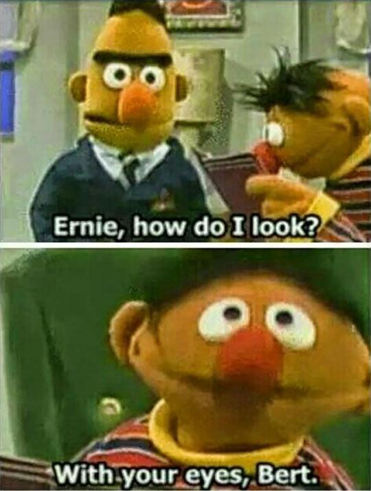 It Pretty Obvious, Bert