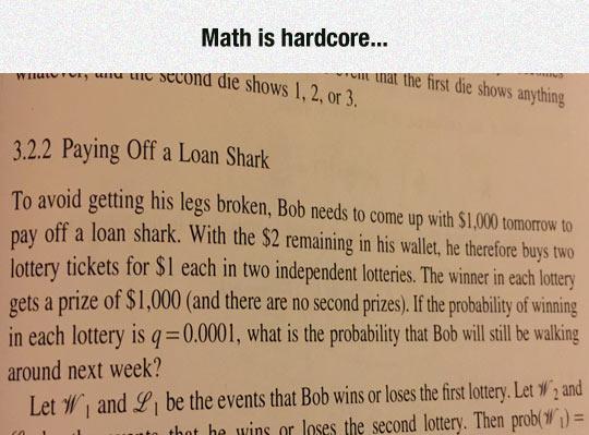 Math Is Useful If You