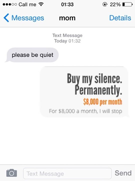 funny-message-mom-quiet-silence