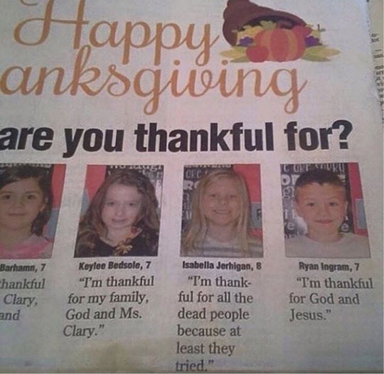 funny-newspaper-girl-thanksgiving-dead-people