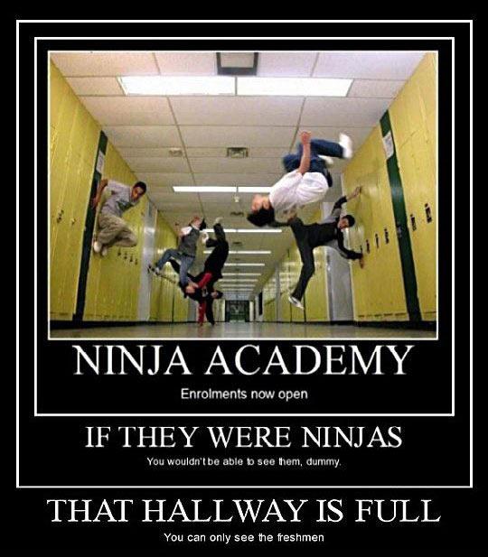 funny-ninja-academy-students-jumping