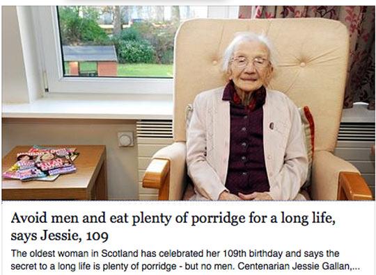Never Skip Your Porridge
